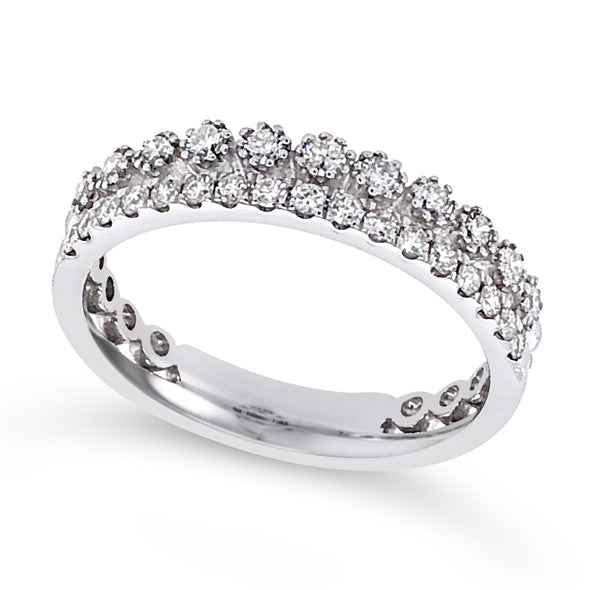 Two Row Diamond Band