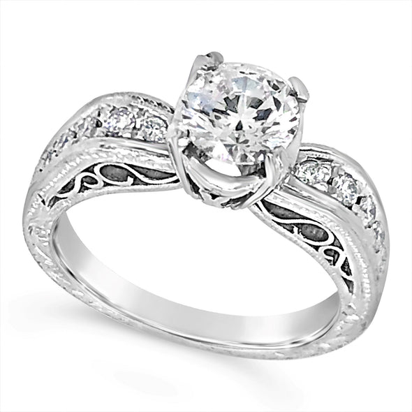 Platinum Channel Set Engagement Mounting