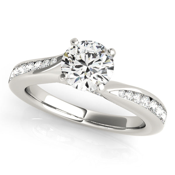 Channel Set Diamond Tapered Engagement Mounting