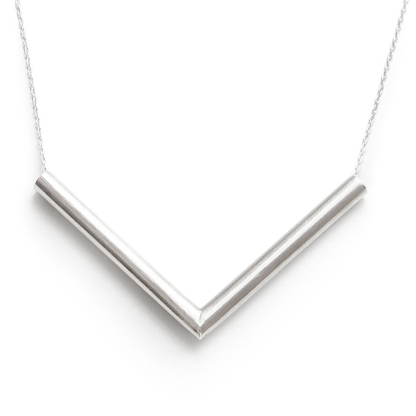 Flee Silver Necklace