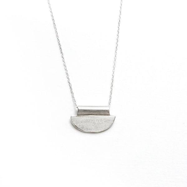 Luna Mini Silver Necklace