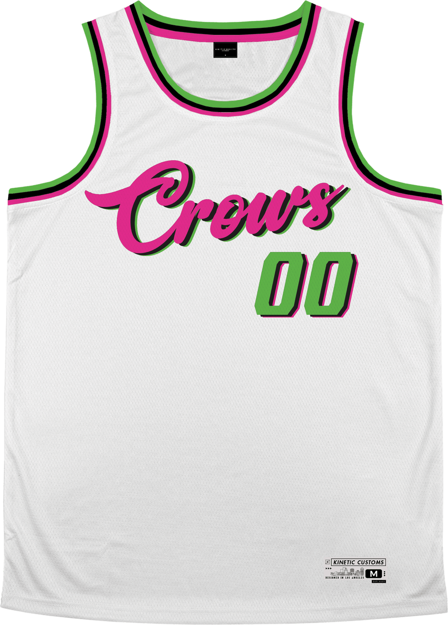 Alpha Chi Rho - Bubble Gum Basketball Jersey Premium Basketball Kinetic Society LLC