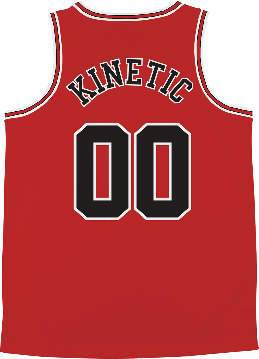 Delta Tau Delta - Big Red Basketball Jersey - Kinetic Society
