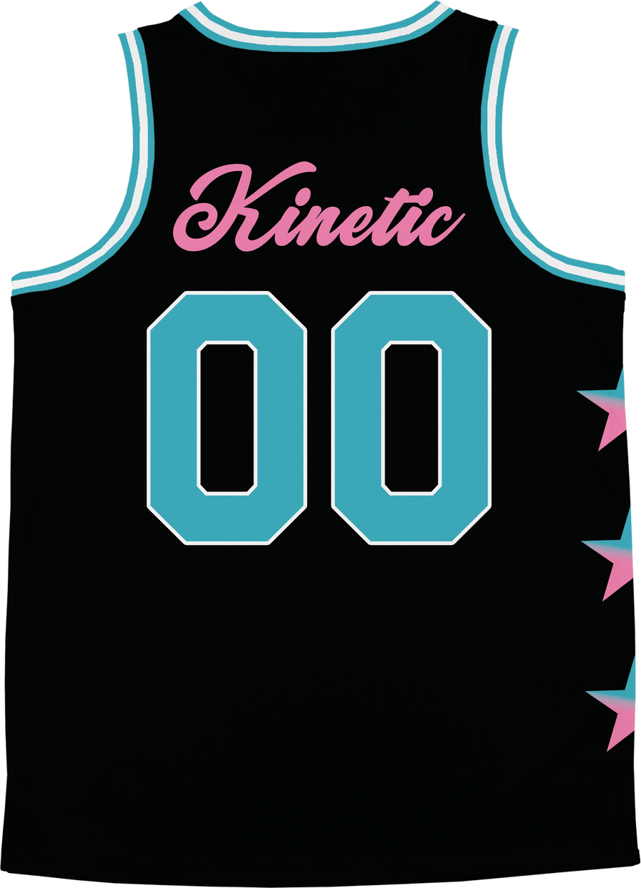 Zeta Psi - Cotton Candy Basketball Jersey - Kinetic Society
