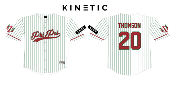 Colorado Alpha ΦΚΨ Baseball Jerseys (2 colorways) Kinetic Society LLC Red