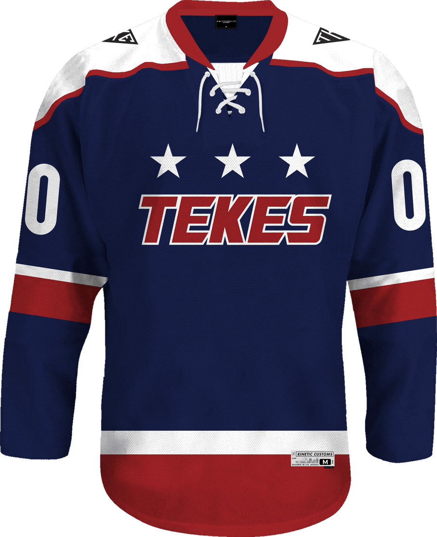 Tau Kappa Epsilon - Fame Hockey Jersey - Kinetic Society
