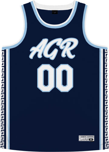 Alpha Gamma Rho - Templar Basketball Jersey - Kinetic Society