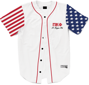 Pi Kappa Phi - Flagship Baseball Jersey - Kinetic Society