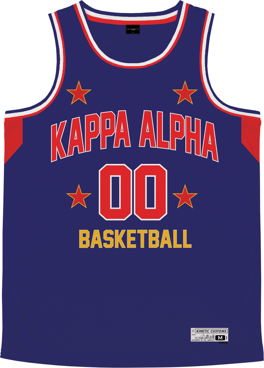 Kappa Alpha Order - Retro Ballers Basketball Jersey - Kinetic Society
