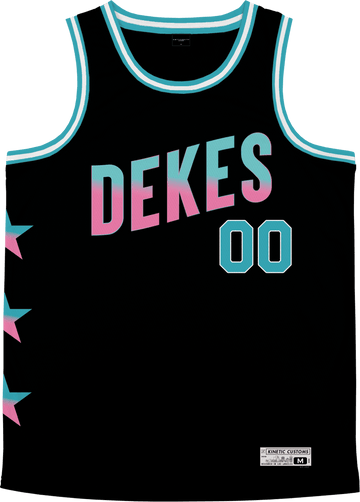 Delta Kappa Epsilon - Cotton Candy Basketball Jersey - Kinetic Society