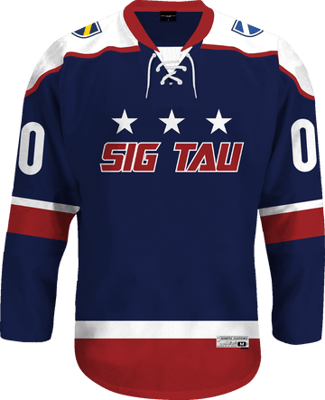 Sigma Tau Gamma - Fame Hockey Jersey - Kinetic Society