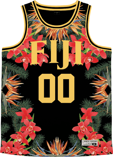 Phi Gamma Delta - Orchid Paradise Basketball Jersey - Kinetic Society