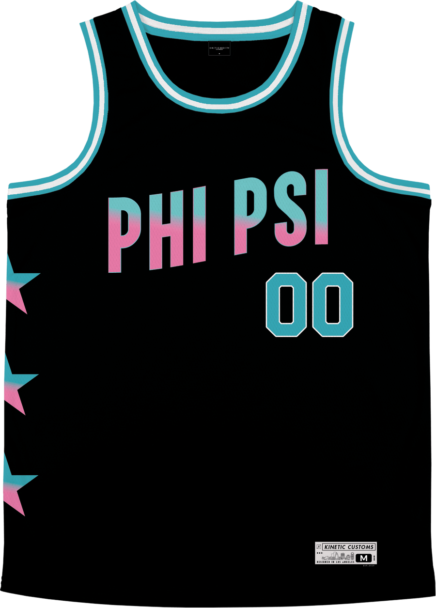 Phi Kappa Psi - Cotton Candy Basketball Jersey - Kinetic Society