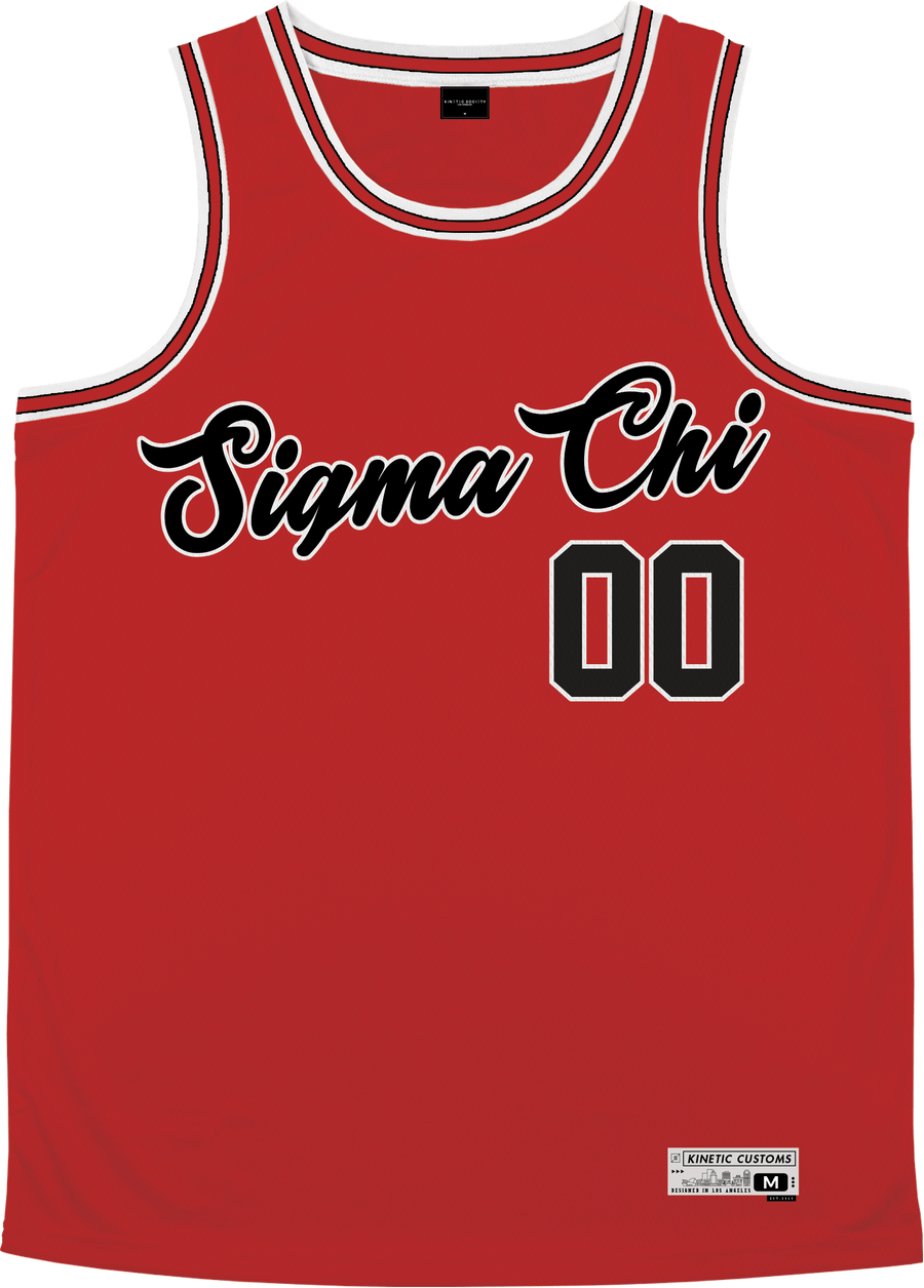 Sigma Chi - Big Red Basketball Jersey