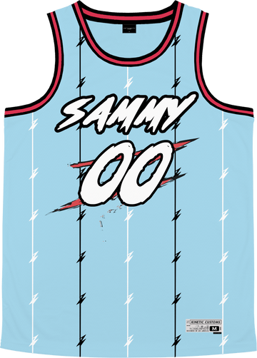 Sigma Alpha Mu - Atlantis Basketball Jersey - Kinetic Society