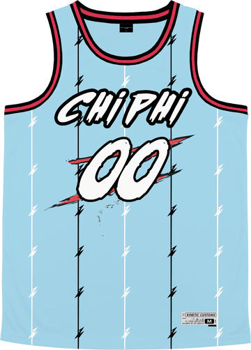 Chi Phi - Atlantis Basketball Jersey - Kinetic Society