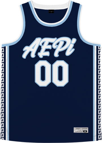 Alpha Epsilon Pi - Templar Basketball Jersey Premium Basketball Kinetic Society LLC