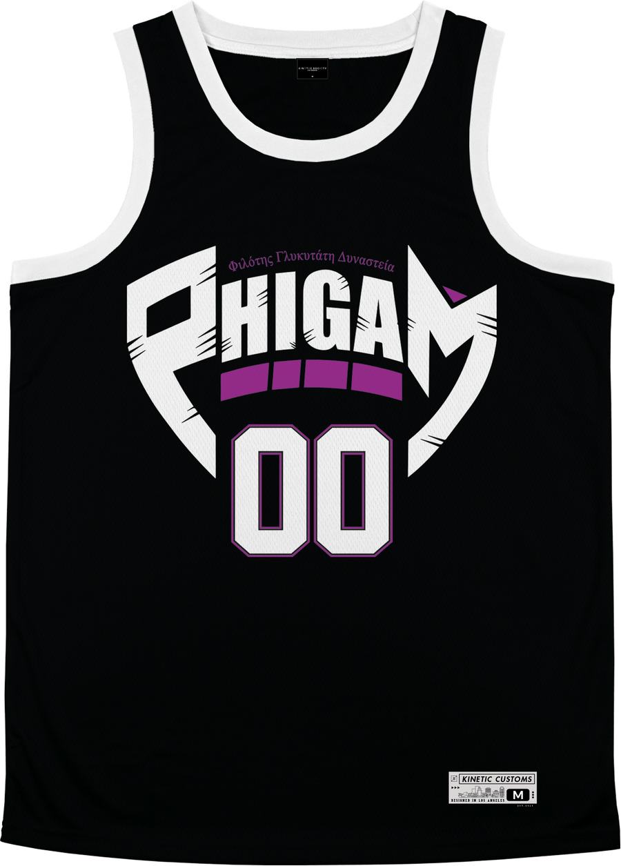 Phi Gamma Delta - Hustler Basketball Jersey - Kinetic Society