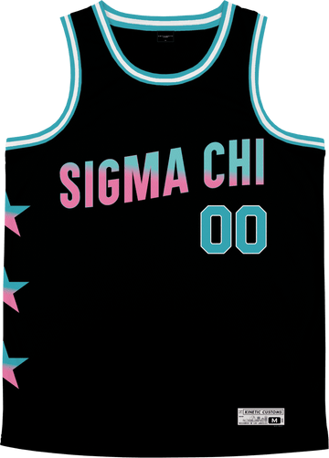 Sigma Chi - Cotton Candy Basketball Jersey - Kinetic Society