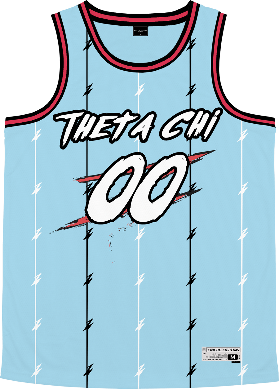 Theta Chi - Atlantis Basketball Jersey Premium Basketball Kinetic Society LLC