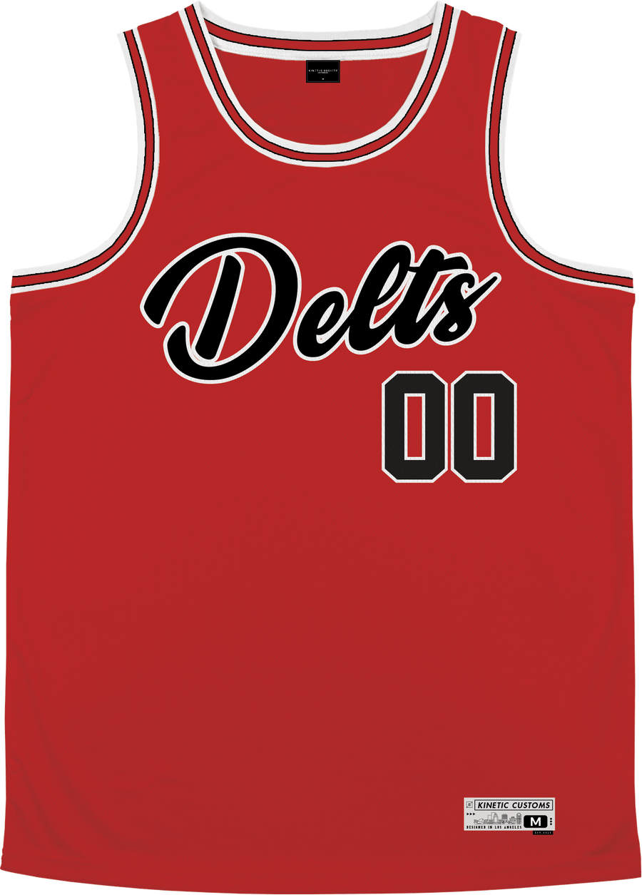 Delta Tau Delta - Big Red Basketball Jersey