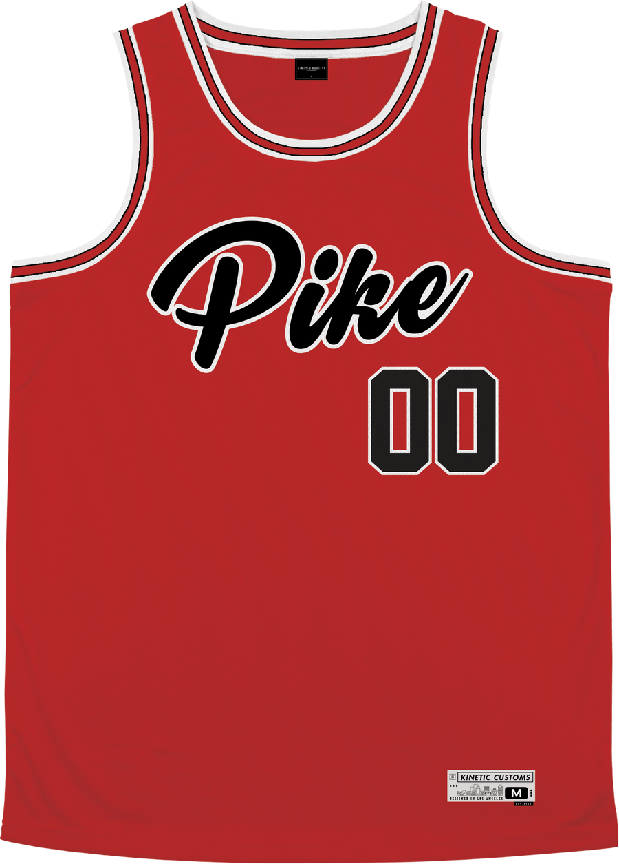 Pi Kappa Alpha - Big Red Basketball Jersey - Kinetic Society