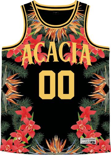 Acacia - Orchid Paradise Basketball Jersey - Kinetic Society