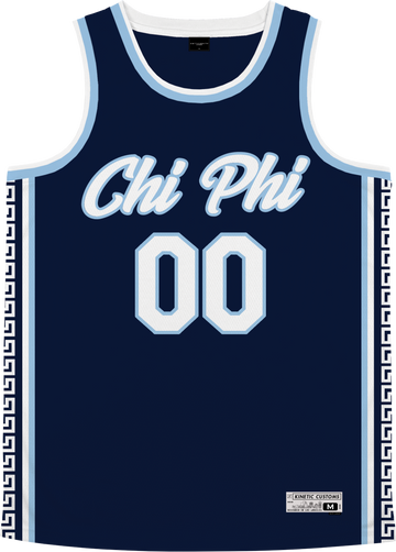 Chi Phi - Templar Basketball Jersey - Kinetic Society