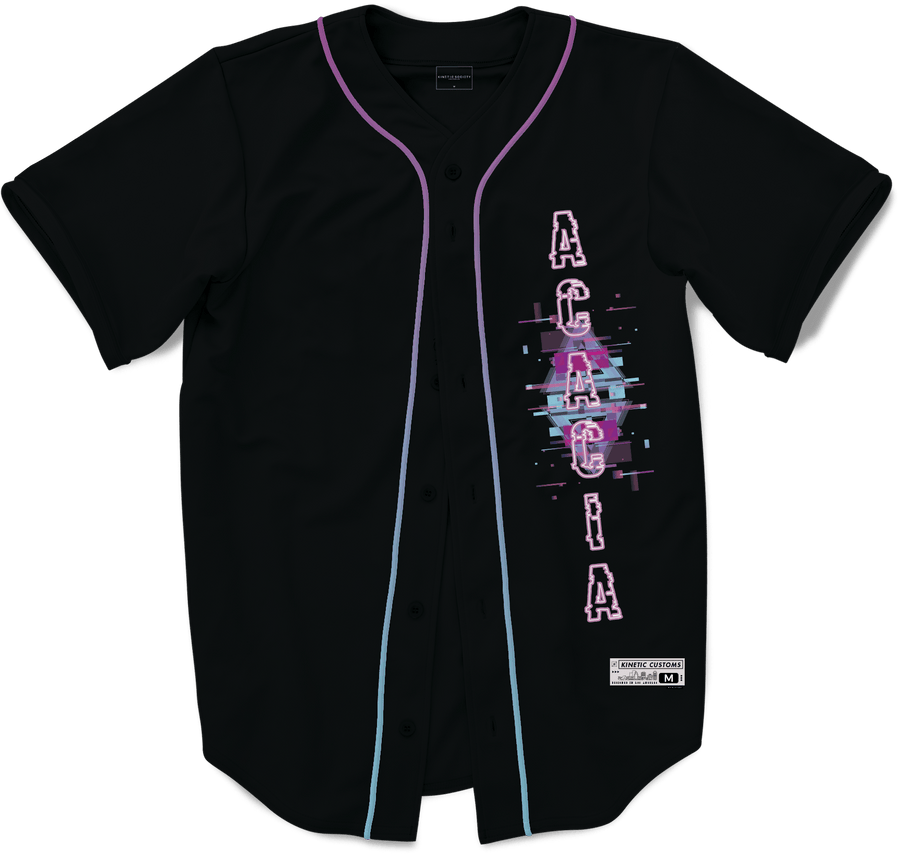 Acacia - Glitched Vision Baseball Jersey - Kinetic Society