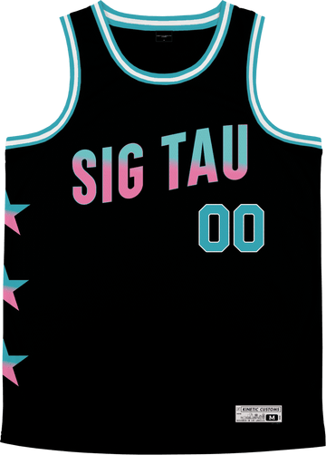 Sigma Tau Gamma - Cotton Candy Basketball Jersey - Kinetic Society