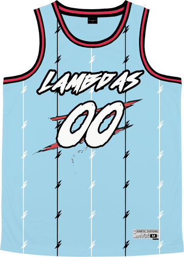Lambda Phi Epsilon - Atlantis Basketball Jersey Premium Basketball Kinetic Society LLC