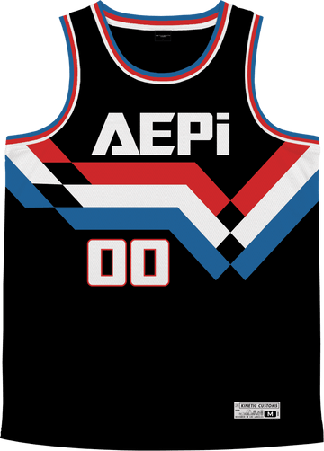 Alpha Epsilon Pi - Victory Streak Basketball Jersey - Kinetic Society