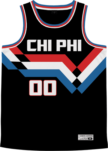Chi Phi - Victory Streak Basketball Jersey - Kinetic Society