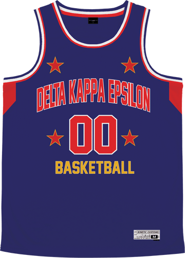 Delta Kappa Epsilon - Retro Ballers Basketball Jersey - Kinetic Society