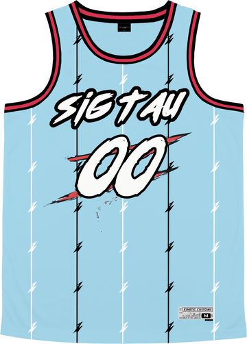 Sigma Tau Gamma - Atlantis Basketball Jersey - Kinetic Society