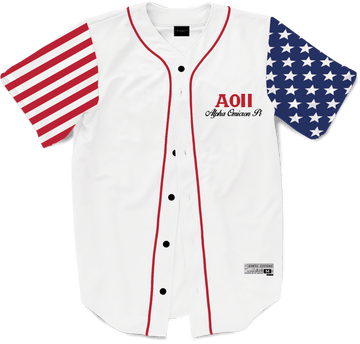Alpha Omicron Pi - Flagship Baseball Jersey - Kinetic Society