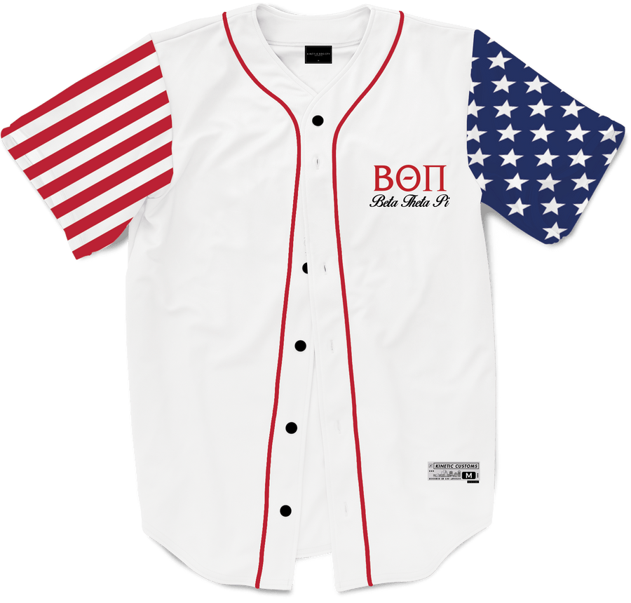 Beta Theta Pi - Flagship Baseball Jersey - Kinetic Society