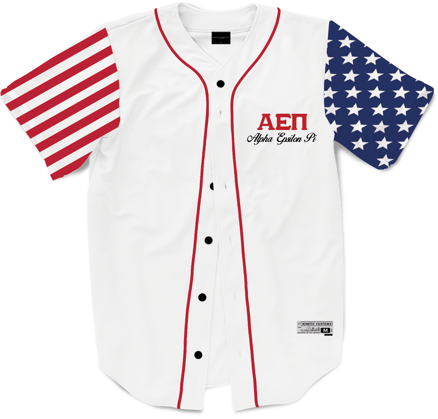 Alpha Epsilon Pi - Flagship Baseball Jersey - Kinetic Society