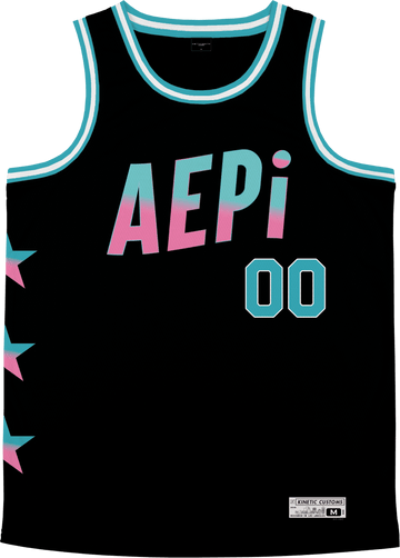 Alpha Epsilon Pi - Cotton Candy Basketball Jersey Premium Basketball Kinetic Society