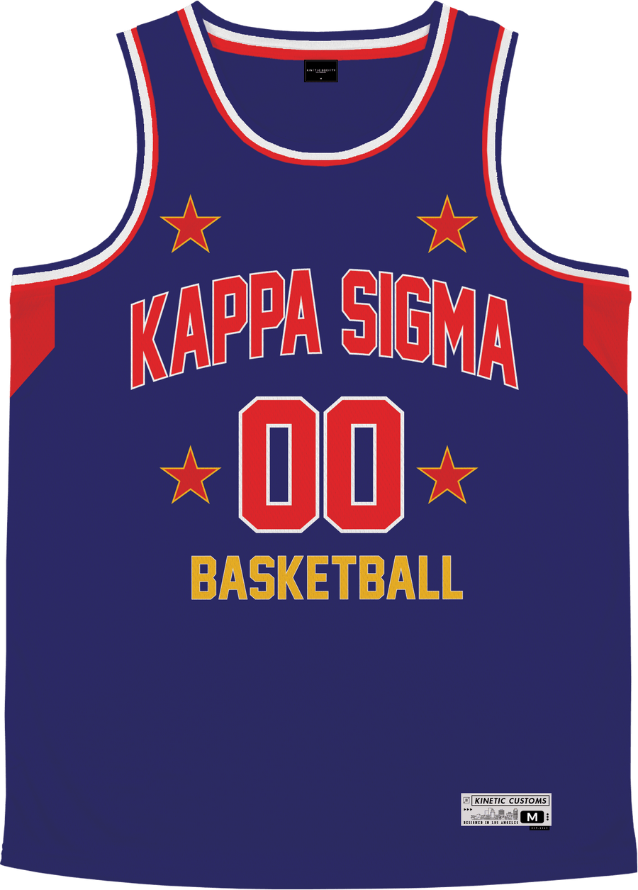 Kappa Sigma - Retro Ballers Basketball Jersey - Kinetic Society