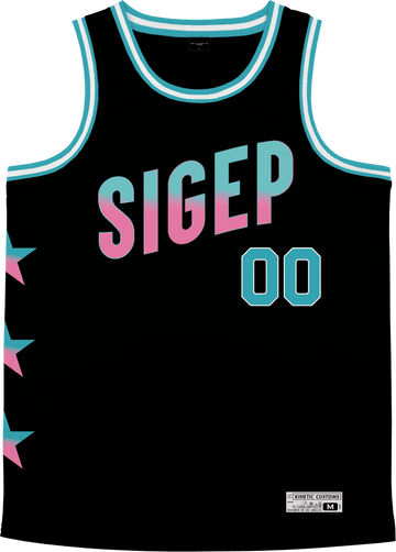 Sigma Phi Epsilon - Cotton Candy Basketball Jersey - Kinetic Society
