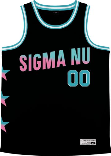 Sigma Nu - Cotton Candy Basketball Jersey Premium Basketball Kinetic Society