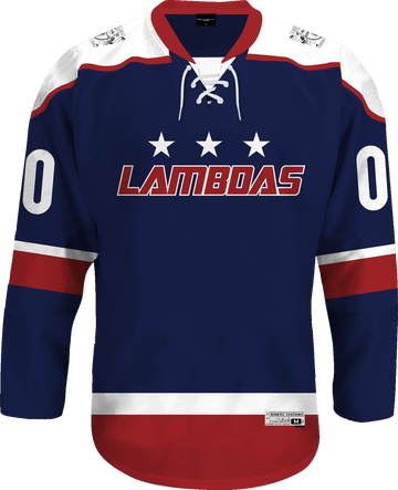 Lambda Phi Epsilon - Fame Hockey Jersey Hockey Kinetic Society LLC