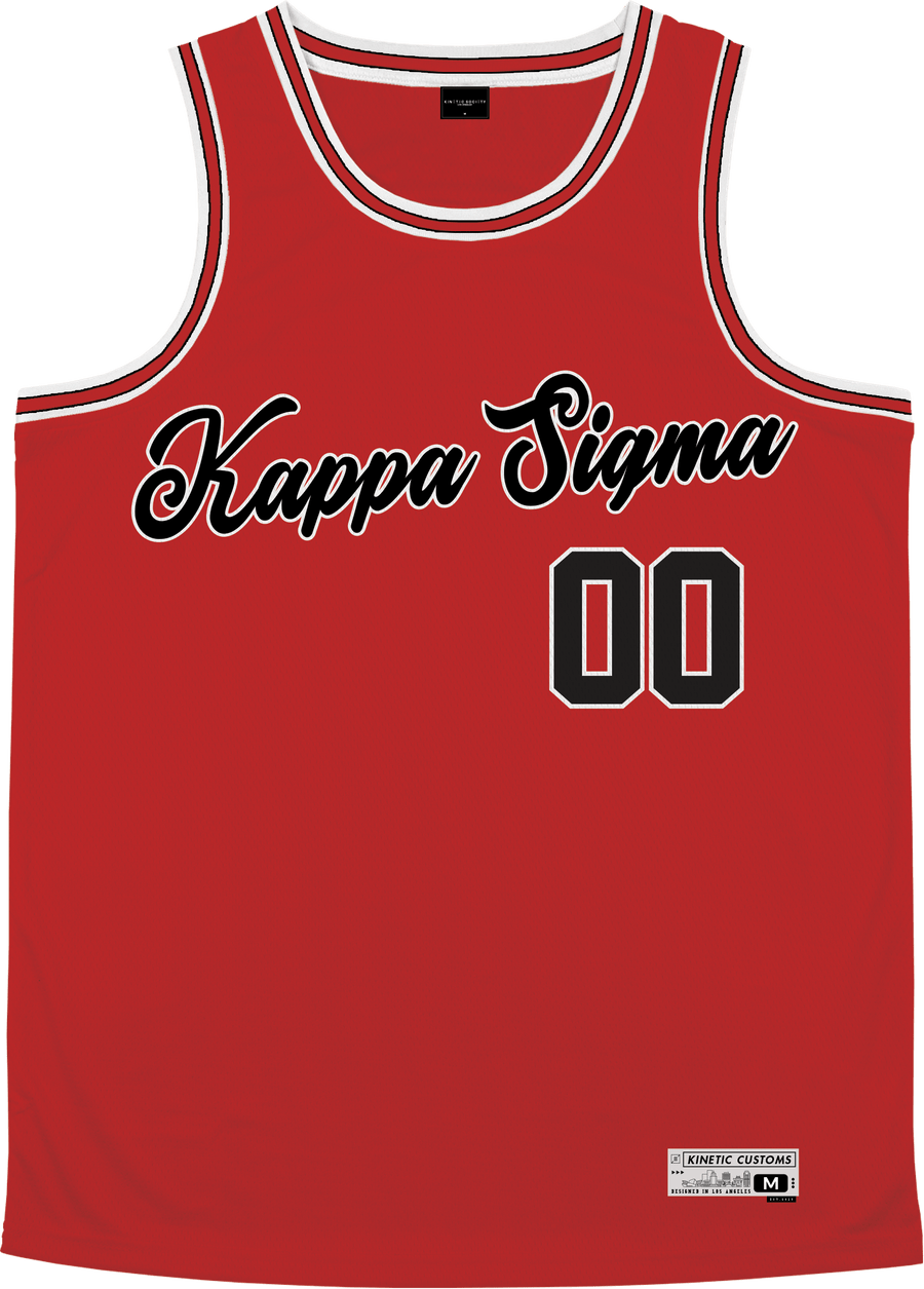 Kappa Sigma - Big Red Basketball Jersey - Kinetic Society