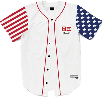 Theta Xi - Flagship Baseball Jersey - Kinetic Society