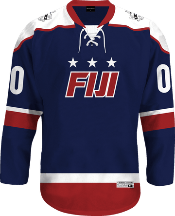 Phi Gamma Delta - Fame Hockey Jersey Hockey Kinetic Society LLC