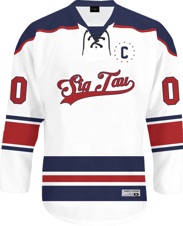 Sigma Tau Gamma - Captain Hockey Jersey - Kinetic Society