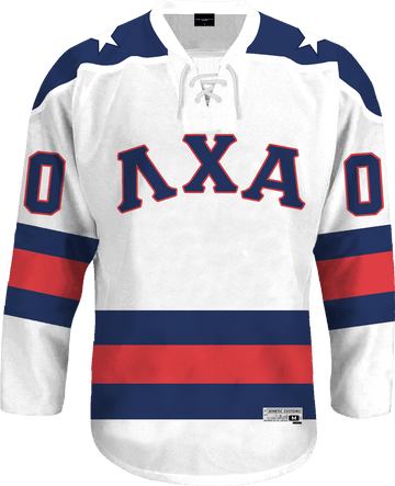 Lambda Chi Alpha - Astro Hockey Jersey Hockey Kinetic Society LLC
