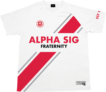 Alpha Sigma Phi - Home Team Soccer Jersey - Kinetic Society
