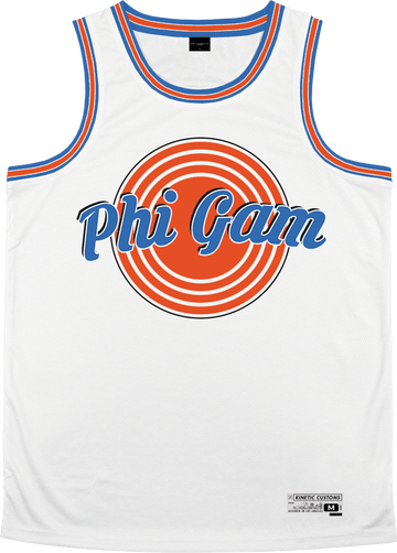 Phi Gamma Delta - Vintage Basketball Jersey - Kinetic Society